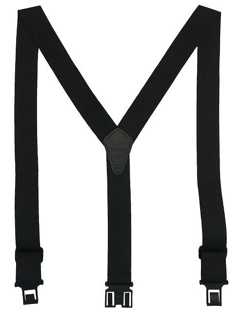 Flame Retardant Perry Suspenders - Black
