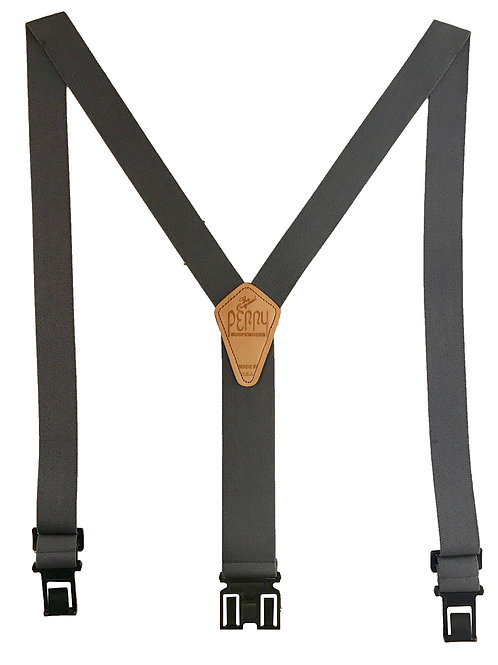 Original Perry Suspenders - Gray