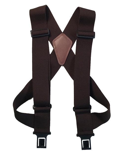 uBEE Perry Suspenders - Brown