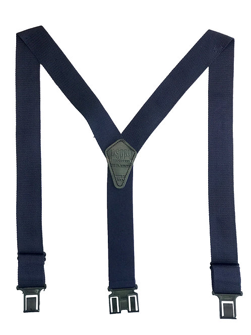 Construction Perry Suspenders - Navy