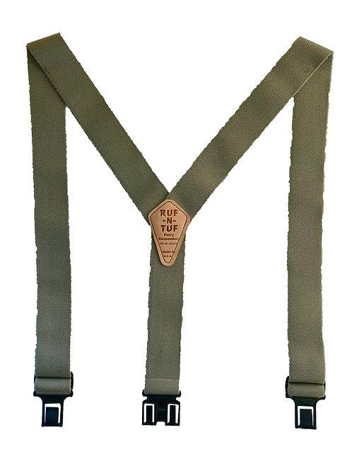 Ruf-N-Tuf Perry Suspenders - Tan