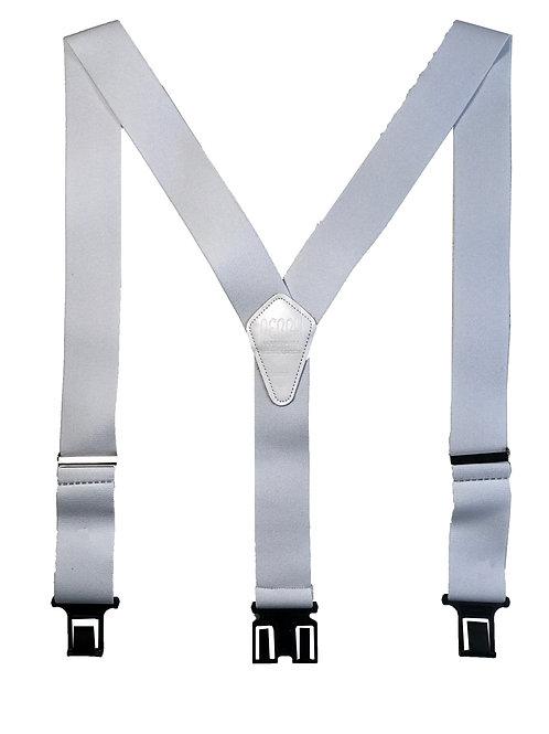 Original Perry Suspenders - White