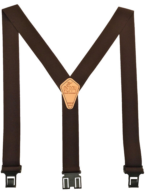 Original Perry Suspenders - Brown