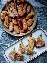 Les beignets de pommes flétries et fleurs de sureau... Un bonheur inégalé qui emplit de joie chaque été!