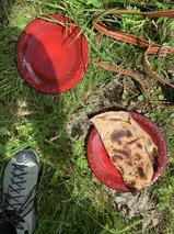 Des crêpes de sarrasin au fromage, au feu de bois... Quel goût incomparable