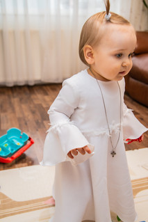 Bespoke baptism gown