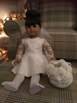 Bespoke doll dress