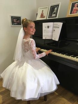 Bespoke christening gown