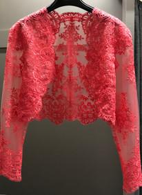 Bespoke lace jacket