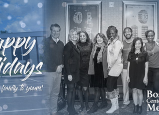 Happy Holidays from the BCM Family!