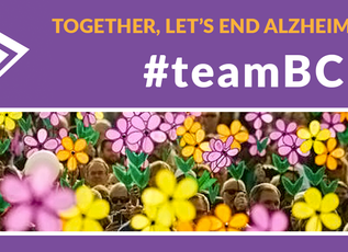 #teamBCM joins the Alzheimer's Association Walk to End Alzheimer's!