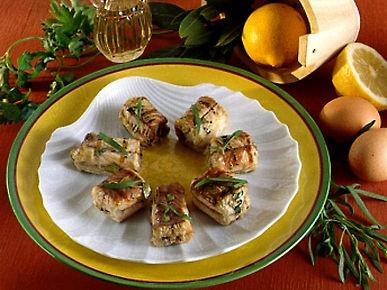 Barchette di Lumache al Formaggio Blue