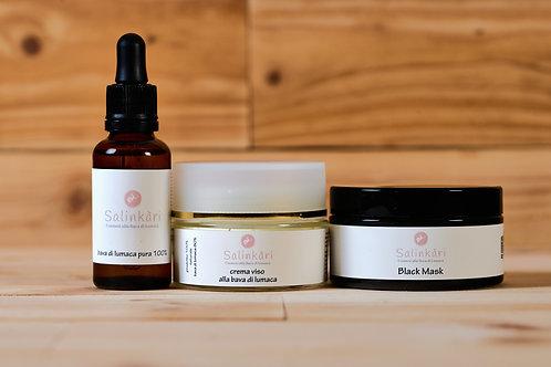 Kit Skin Care Bava di Lumaca