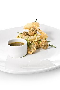 Chiocciole Fritte in Salsa di Soia e Wasabi