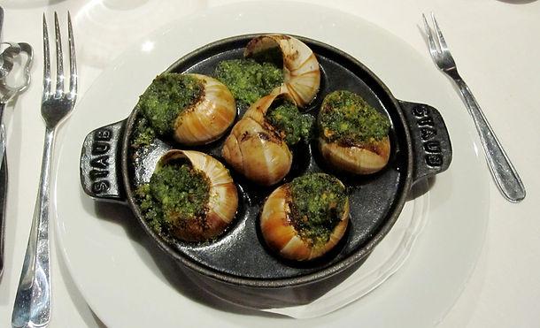 Chiocciole alla Borgogna con Gorgonzola
