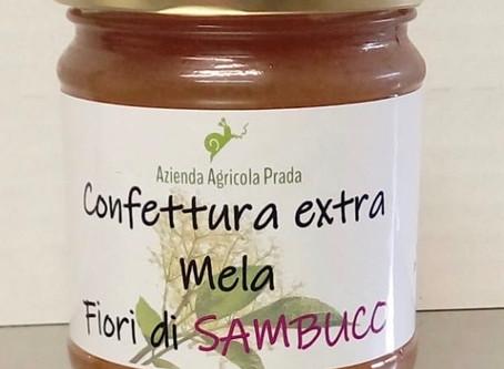 Confettura Extra di Mela e Fiori di Sambuco 230 g