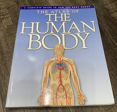 The atlas of the human body book