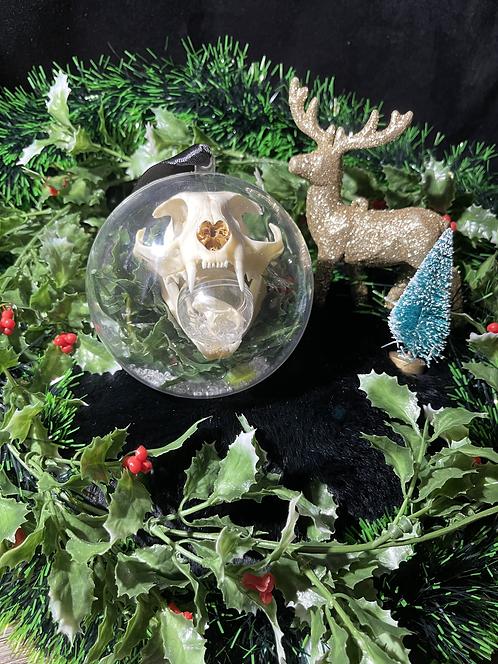Christmas Ornaments -Feline Huntress