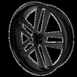 BlackCR5MotorcycleWheelwithBlackInserts.