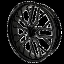BlackCR4MotorcycleWheelwithBlackInserts.