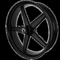 BlackCR1MotorcycleWheelwithBlackInserts.