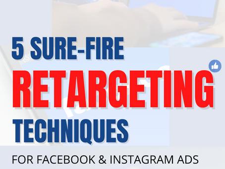 5 Sure-fire Ways to Leverage Retargeting Ads