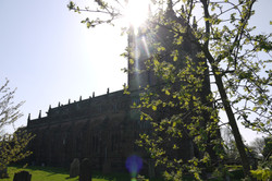 St Boniface in the sunshine