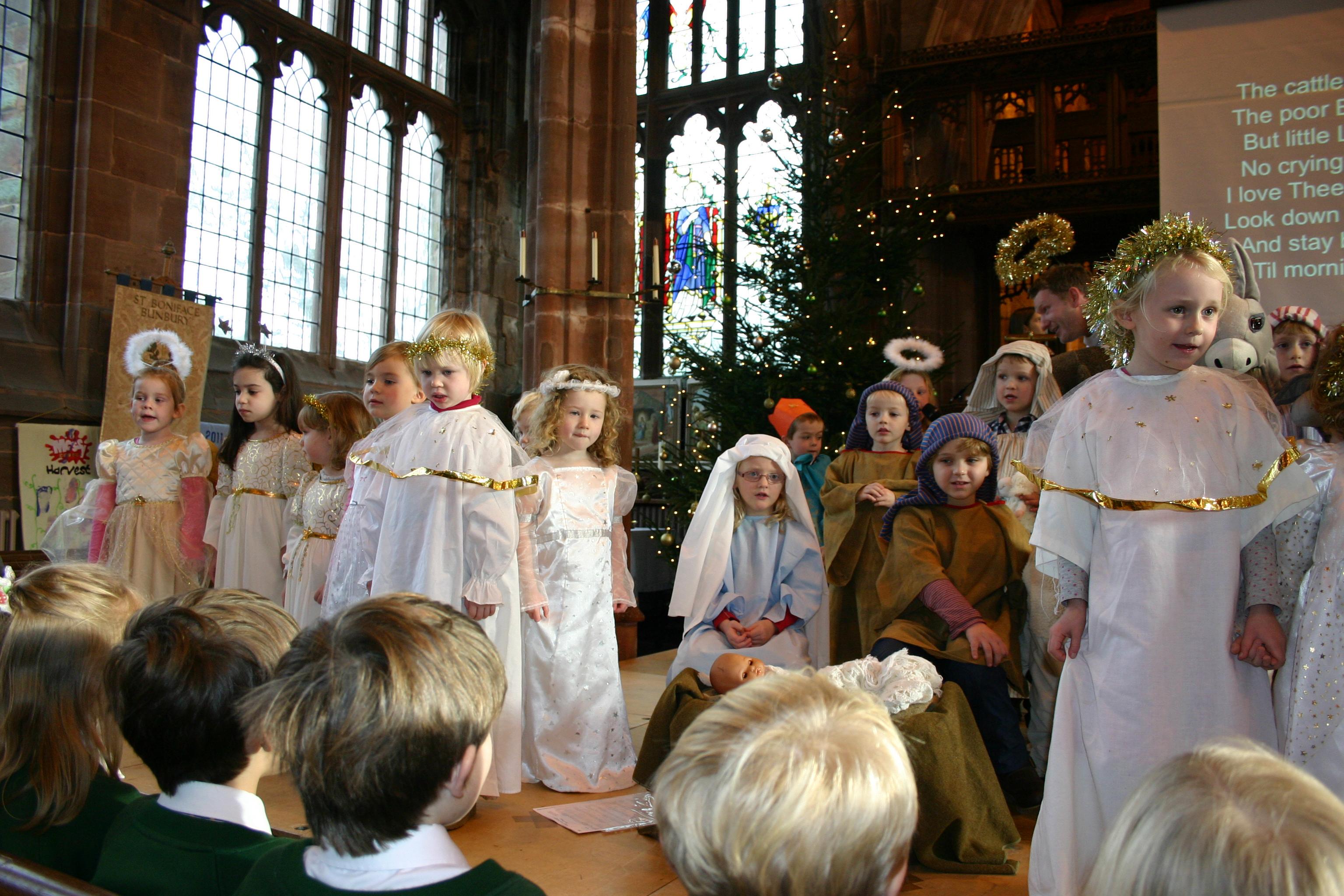 Nativity at St Boniface