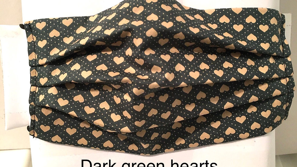 Dark Green Hearts