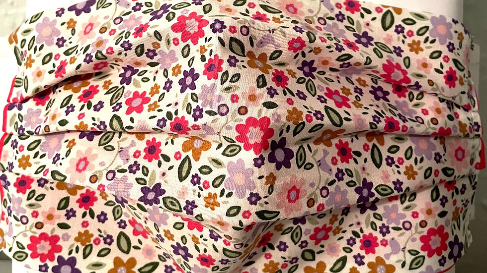 Pink Ditsy Floral