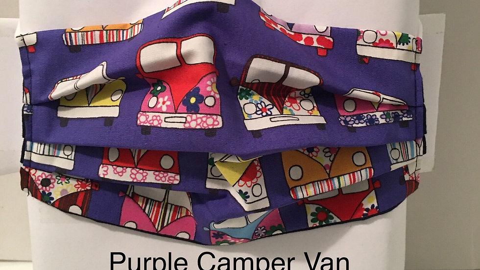 Purple Campervan