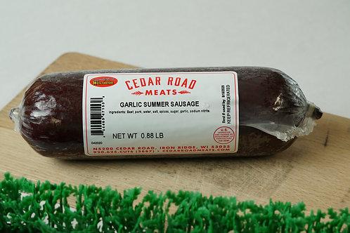 Garlic Mustard Seed Summer Sausage