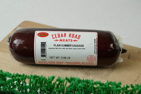 Plain Summer Sausage - 1lb
