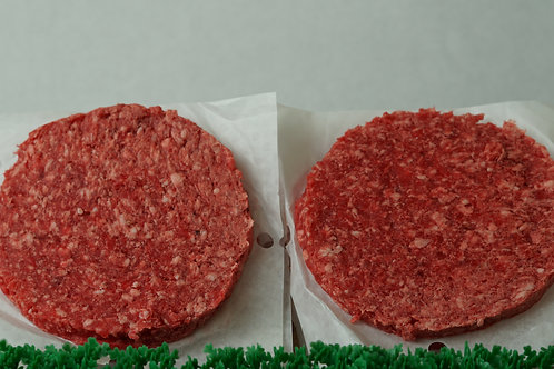 Ground Beef Patties - 6lb Box