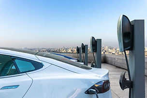 electric automobile charging with chargi