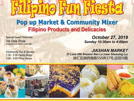 Join the Filipino Fun Fiesta Bazaar and PH Community Mixer