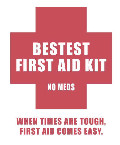 Bestest First Aid Kit -No meds CNY180
