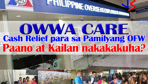 Extended to Feb 2-16 air tickets! PHP10,000 for stranded OFWs. Including Taiwan-bound.