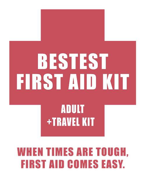 Bestest First Aid Kit -Adults + Travel Kit CNY300