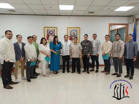 Oathtaking of Pinoy Teachers Association in Shanghai (PITAS)