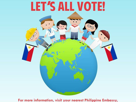 Overseas Voting 13Apr to 13May