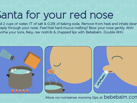 Unclog stuffy nose without medicine