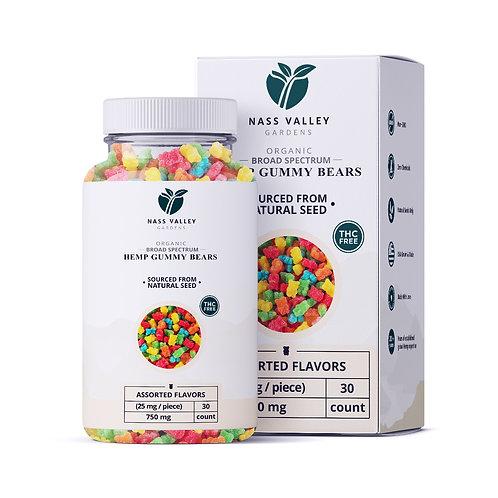 750 MG Broad Spectrum CBD Wellness Gummy