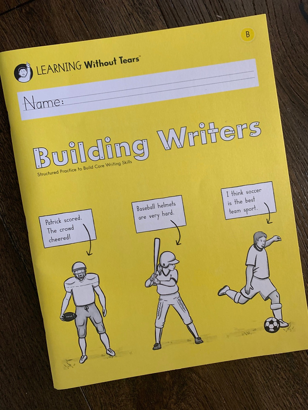 Building Writers Learning Without Tears