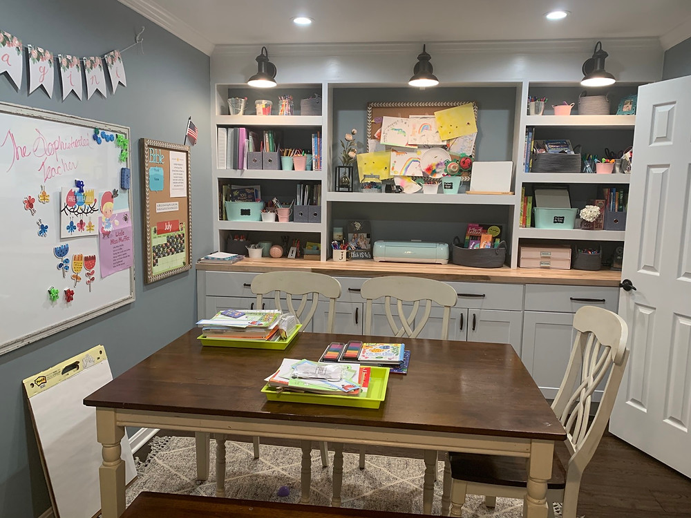 Homeschool Room Organization Built In Hack