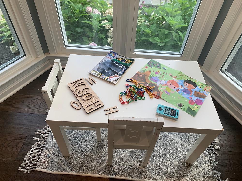 Toddler Preschool Table Ikea Kids Homeschool Room