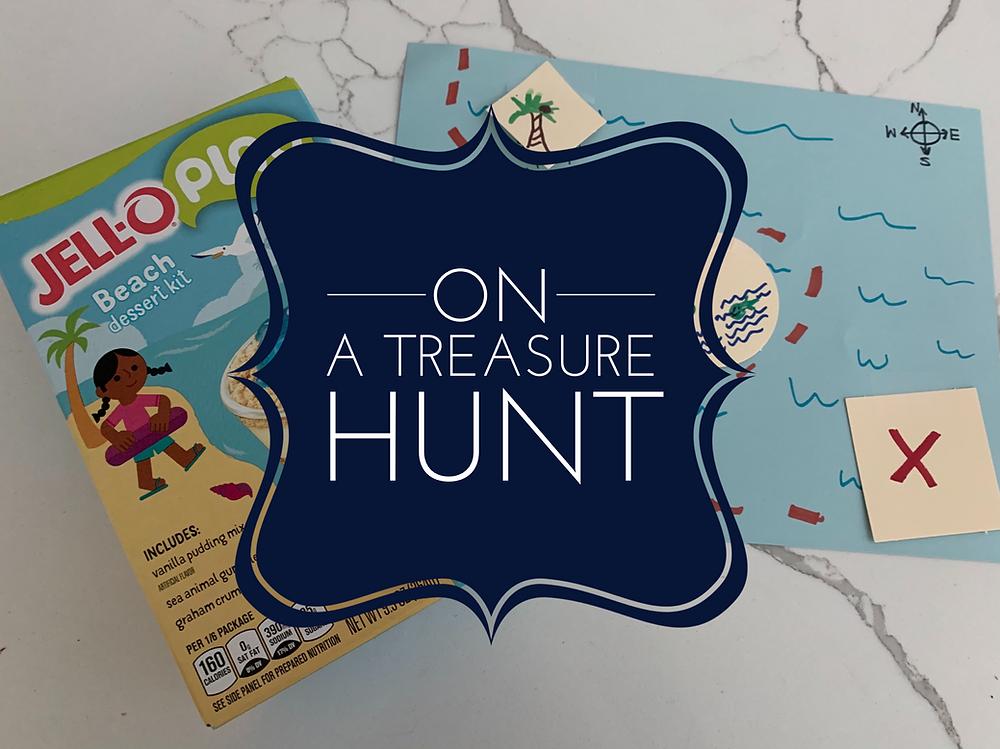 On a Treasure Hunt PreK Kinder First Grade