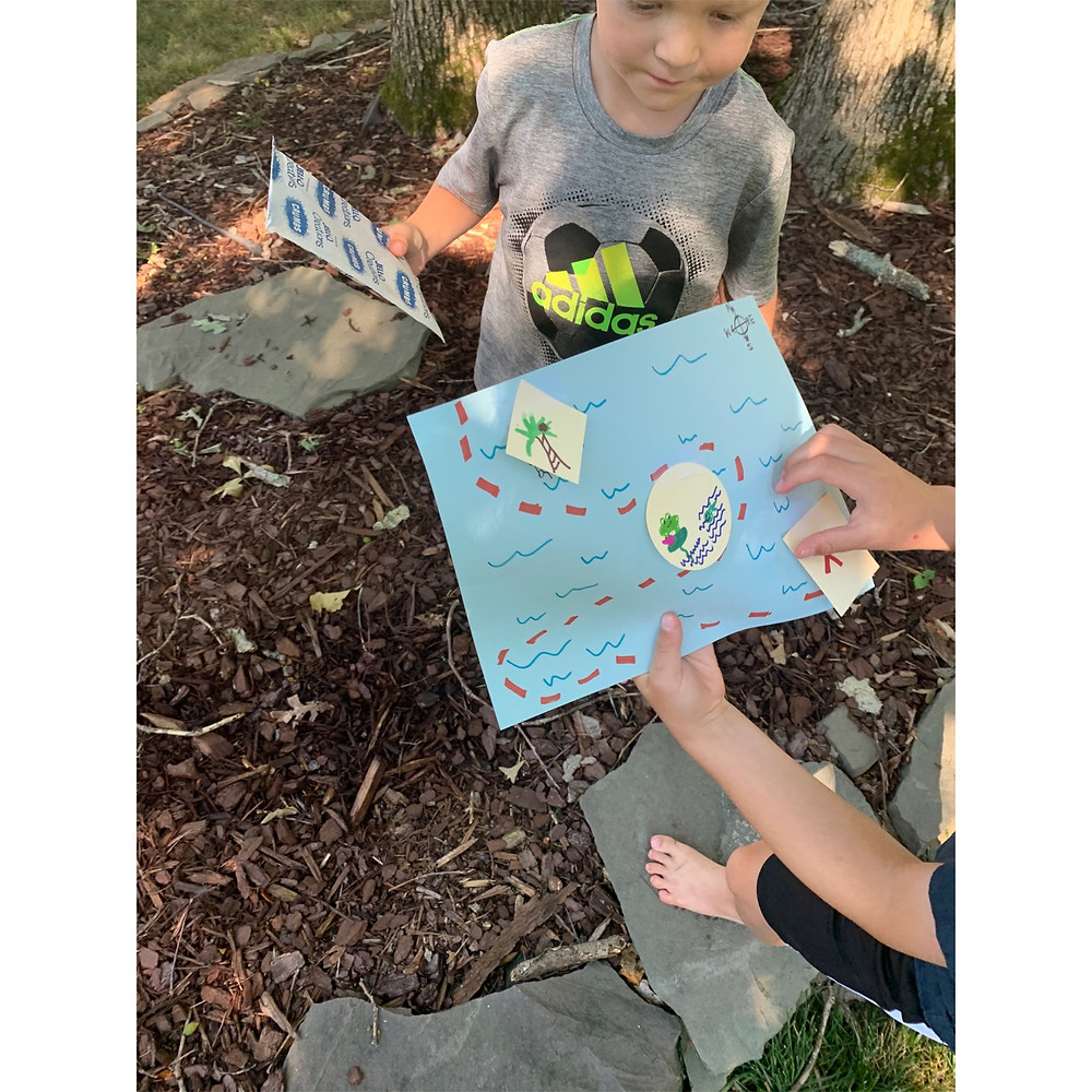 On a Treasure Hunt Experience Early Learning