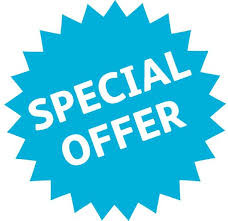 Special August Promotion