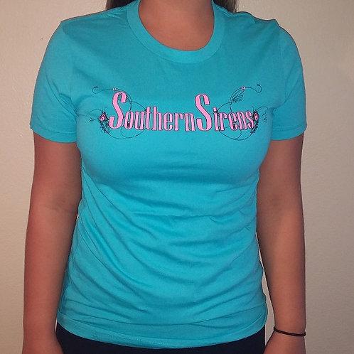 Blue Ladies T Shirt